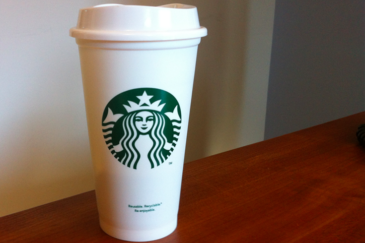 Coffee Cup To Go Starbucks