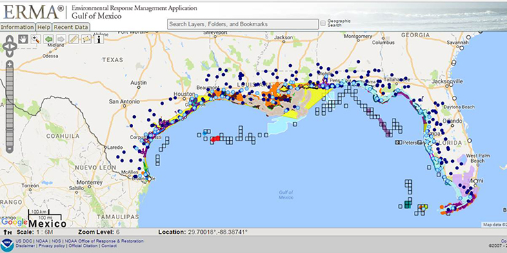 Gulf of Mexico Oil Spill Data: New Monitoring Updates - Ocean ...