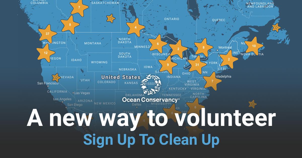 Volunteer - Ocean Conservancy