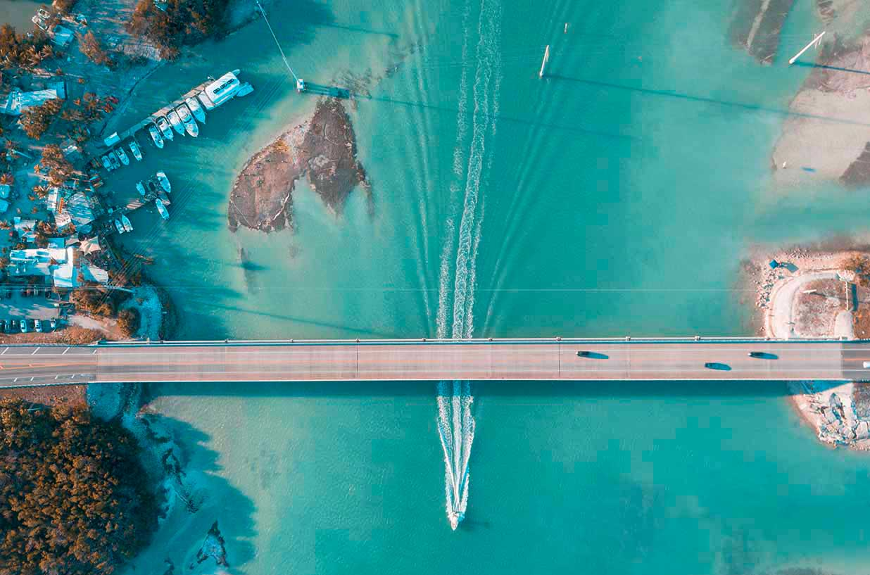 Aerial Key West