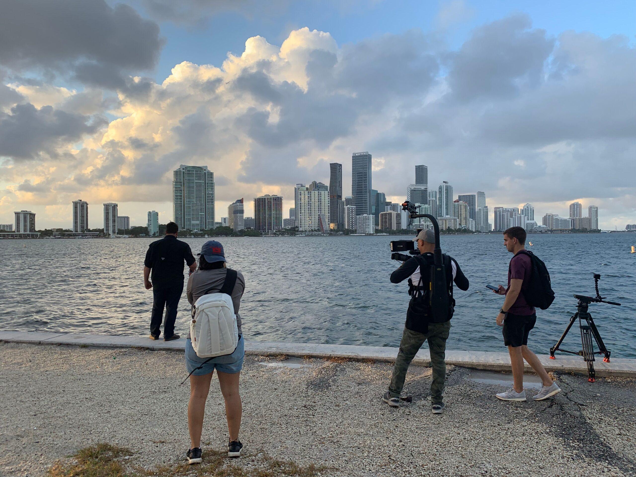 Direcionando o oceano para a série Everglades 9