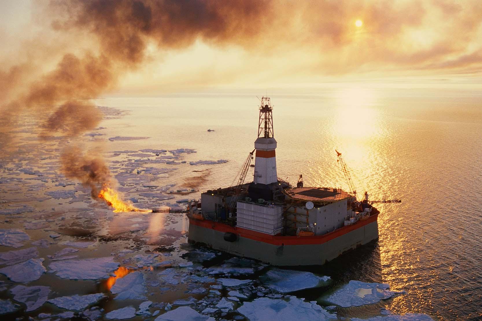 Prevenção e limpeza de derramamentos de óleo nas águas do Ártico 2